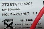 Saft 2T3STVTC201 Accupack Noodverlichting 6V 1600mAh