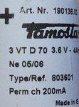 Famostar 3VTD70 Accupack 3,6V 4000mAh 190136