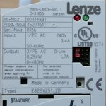 Lenze E82EV251-2B Variable Frequency Drive 0,25 Kw