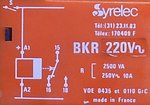 Syrelec inbouw timer Tijdrelais BKR 220V