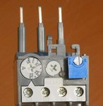 ABB thermisch relais TA25 DU 6.5 A (gebruikt) Thermische overbelastingsrelais