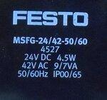 Festo mfh-5/3g-d-1 c magneetventiel 150982