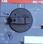 ABB MS 116 Motorbeveiligingsschakelaar 6,3 - 10A
