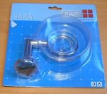 FAP SARA zeepschaal chroom 701111859-010