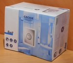 Grohe 38965SH0 bedieningspaneel toilet Sail dual flush alphine wit