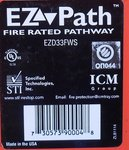 EZ Path fire rated pathway EZD33FWS