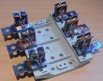 Hager Weber Mespatroonhouder 400A 690V NHU 2x3