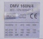 Eaton holec DUMECO DMV160N/4 160A 4P M6 Lastscheider 4 1814179