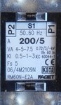 Faget Eleq Stroommeettransformator RM60N-E2A 200/5A 4-5-7,5VA