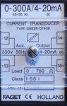 Faget Eleq Stroommeettransformator trafo RM228-074CK 0-300A 4-20mA