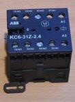 ABB KC6-31Z-2.4 Minimagneetschakelaar 4P 3NO/1NC 17-32VDC