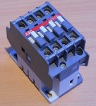 ABB N31E-80 Magneetschakelaar  N31E 3NO+1NC 220-230V 50Hz 230-240V 60Hz