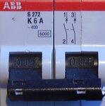 ABB Installatieautomaat S272 K6A 2P
