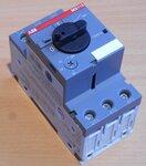 ABB Motorbeveiligingsschakelaar MS116 1,6 230-690V 1,0-1,6A 3P, 1SAM250000R1006