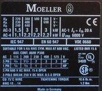 ABB B4-30-10 magneetschakelaar 220V 40Hz 240V 50Hz 3p 1NO