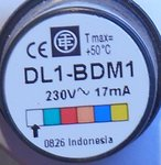 Schneider Electric DL1-BDM1 TMC TE LED 230V 17mA wit