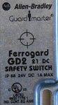 Allen Bradley Ferrogard GD2 & GS1/GS2 Magnetic Non-Contact Safety Switch