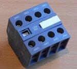 ABB Hulpcontact frontmontage 4blok 4NO tbv magneetschakelaar AF09, AF16..-30- - 1SBN010140R1340
