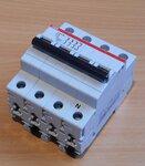 ABB S 203 C6 6 kA Automaat 3p+N C kar 6A 2CDS253103R0064