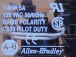Allen Bradley 700-HC24Z24 relais 24VDC 4PDT 5A