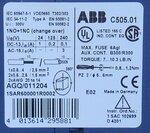 ABB C505.01 -230 Thermistor relais 1NO+1NC (change over) 1SAR600001R0002