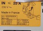 Hager BD425N aardlek element 4p 25A 30mA klasse A 134450