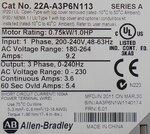 Allen-Bradley 22A-A3P6N113 PowerFlex 4 frequentieregelaar AC