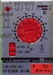 Multicomet CSE-3-S tijd relais 11 pin 0,15 tot 30 sec. 24V incl. relais voet