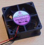 Bi-sonic BP602524H-03 Vierkante Ventilator server 24V DC 0.12A