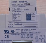 Omron H3DS-GL timer tijdrelais ster-driehoek 1NO 1NC H3DS6006R