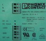 Phoenix Contact CM125-PS-120-230AC/24DC/5/F Power Supply voeding
