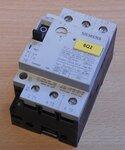 Siemens 3VU1300-1MK00 motorstarter protector 0,4-0,6A 1NO+1NC