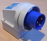 Walther 638306 Gemonteerde CEE stekker 32A 3P (2P+E) 200-250V 6h IP67