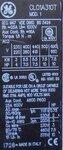 GENERAL ELECTRIC CL01A310T6 magneetschakelaar 3P+1NO, 230VAC, Schakelvermogen 5.5kW
