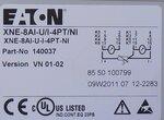 Eaton Moeller XNE-8AI-U/I-4PT/NI Analog input card XI/ON ECO, 24V DC, 140037