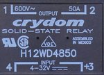 Crydom H12WD4850 Solid State Relay 50A