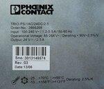 Phoenix Contact TRIO-PS/1AC/24DC/2.5 DIN-rail netvoeding 24 V/DC 2.5 A 60 W