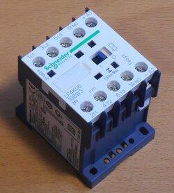 Schneider Electric LP4K09 008EW3 magneetschakelaar 48V