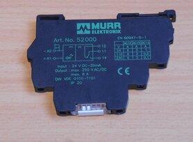 Murr elektronik 52000 Relais 24VDC 6A 250VAC 20VDC