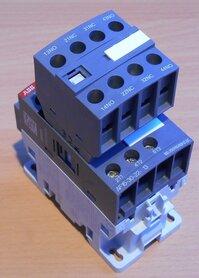 ABB AF16-30-22-13 Magneetschakelaar 3P 2NO+2NC 30A 100-250V