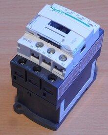 Schneider Electric LC1D12FD magneetschakelaar 110V DC 3p 1NO+1NC 25A 035391
