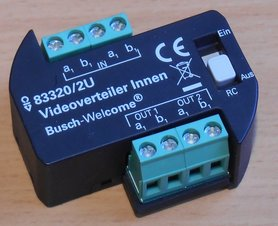 Busch Jaeger 83320/2 U videoverdeler binnen inbouw 8300-0-0042