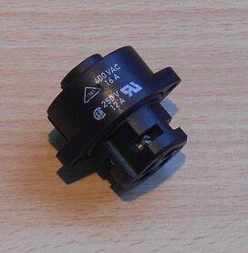 Amphenol Tuchel T3111 000 Female 3+PE