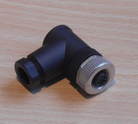 binder 99 0436 52 05 Kabelconnector haaks 5P 6-8mm Serie 713