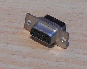 AMP 177RRE09S D-Sub Connector 9P 177-RR-E-09-S