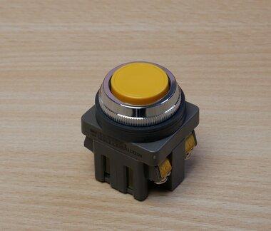 Idec ABN111-Y Gele drukknopschakelaar knop