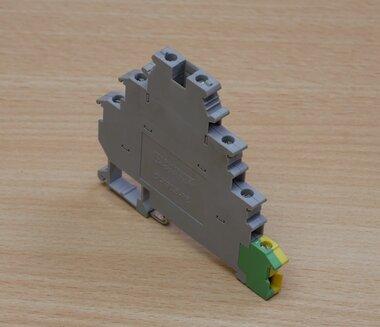 Phoenix Contact DLKB 2,5-PE Doorgangsserieklem 7P 0.2 mm² 2.5 mm² 3011038