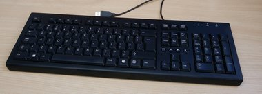 HP KU-1516 toetsenbord USB zwart 697737-L31