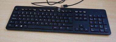 HP KU-1469 slim toetsenbord USB zwart 803181-L31