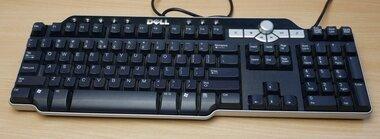 Dell Sk-8135 USB Multimedia toetsenbord zwart